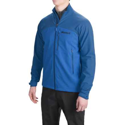 Marmot Estes M3 Soft Shell Jacket (For Men) in Peak Blue/Blue Sapphire - Closeouts