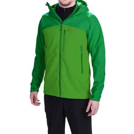 Marmot Estes Soft Shell Jacket (For Men) in Kale Green/Green Bean - Closeouts