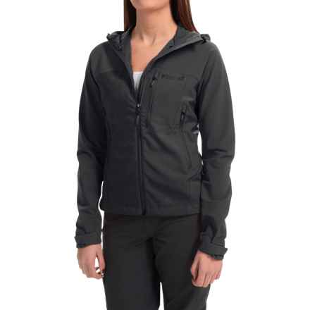 Marmot Estes Soft Shell Jacket (For Women) in Black - Closeouts