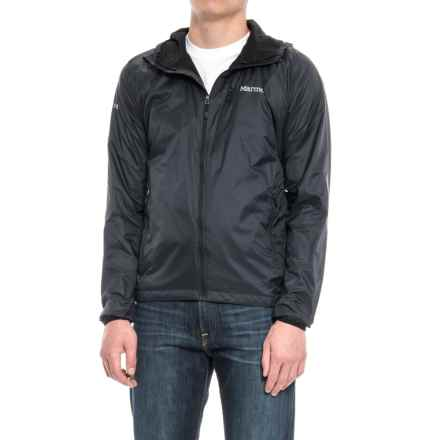 Marmot Ether DriClime® Hooded Jacket (For Men) in Black - Closeouts