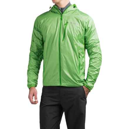 Marmot Ether DriClime® Hooded Jacket (For Men) in Citrus Green - Closeouts