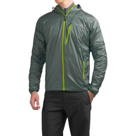 Marmot Ether DriClime® Hooded Jacket (For Men) in Dark Zinc - Closeouts