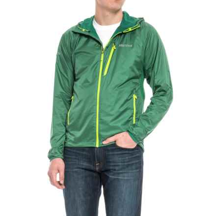 Marmot Ether DriClime® Hooded Jacket (For Men) in Shady Glade - Closeouts