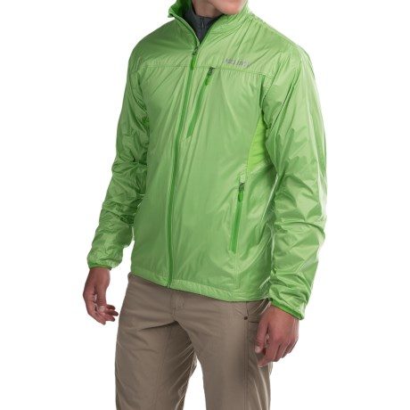 Marmot Ether DriClime® Jacket (For Men) in Citrus Green