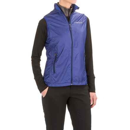 Marmot Ether DriClime® Vest (For Women) in Royal Night - Closeouts
