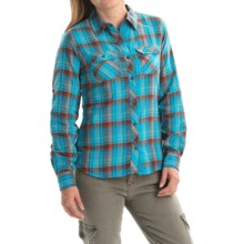 Marmot Evelyn Shirt - UPF 50, Long Sleeve (For Women) in Arctic Ocean - Closeouts