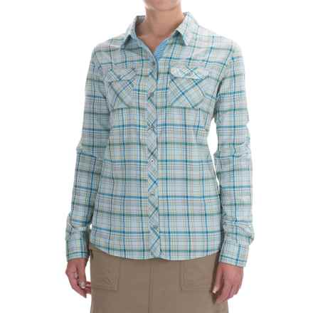 Marmot Evelyn Shirt - UPF 50, Long Sleeve (For Women) in Blue Sea - Closeouts