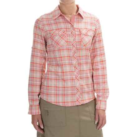 Marmot Evelyn Shirt - UPF 50, Long Sleeve (For Women) in Emberglow - Closeouts