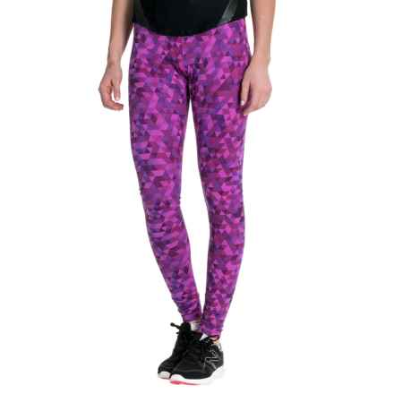 Marmot Everyday Tights (For Women) in Neon Berry Geode - Closeouts