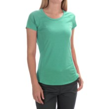 Marmot Evie T-Shirt - UPF 30, Short Sleeve (For Women) in Gem Green - Closeouts