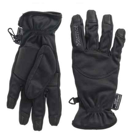 Marmot Evolution Windstopper® Gloves - (For Women) in Black - Closeouts