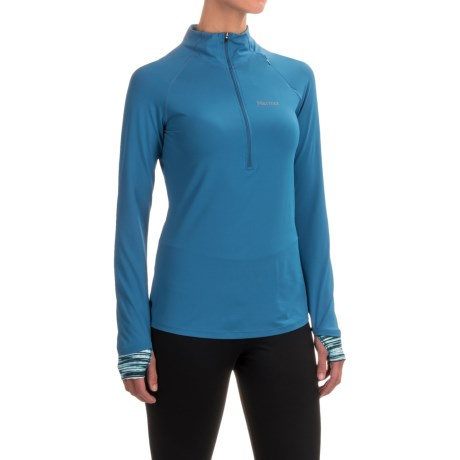 Marmot Excel Shirt - UPF 50+, Zip Neck, Long Sleeve (For Women)