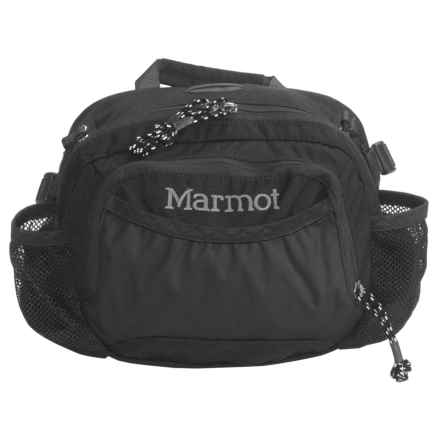 Marmot Excursion Lumbar Pack in Black - 2nds