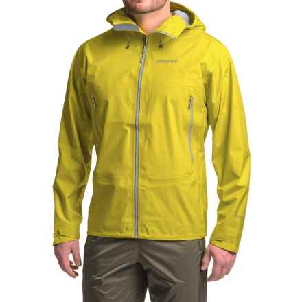 Marmot Exum Ridge Gore-Tex® Jacket - Waterproof (For Men) in Citronelle - Closeouts