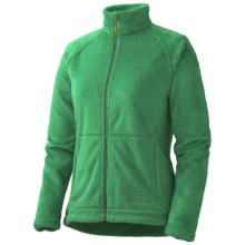 Marmot Flair Fleece Jacket (For Women) in Dark Fern - Closeouts