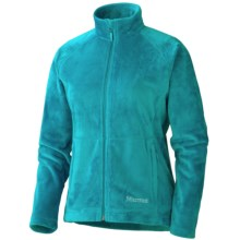Marmot Flair Fleece Jacket (For Women) in Sea Green - Closeouts