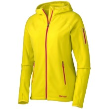 Marmot Flashpoint Hooded Jacket (For Women) in Acid Yellow - Closeouts