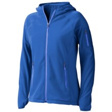 Marmot Flashpoint Hooded Jacket (For Women) in Blue Bay - Closeouts