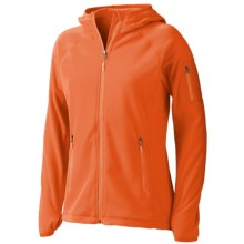 Marmot Flashpoint Hooded Jacket (For Women) in Mandarin - Closeouts