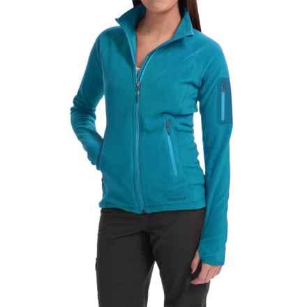 Marmot Flashpoint Jacket - Polartec® Classic Microfleece (For Women) in Aqua Blue - Closeouts