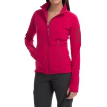 Marmot Flashpoint Jacket - Polartec® Classic Microfleece (For Women) in Raspberry - Closeouts