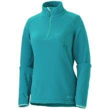 Marmot Flashpoint Polartec® Fleece Jacket (For Women) in Sea Green - Closeouts