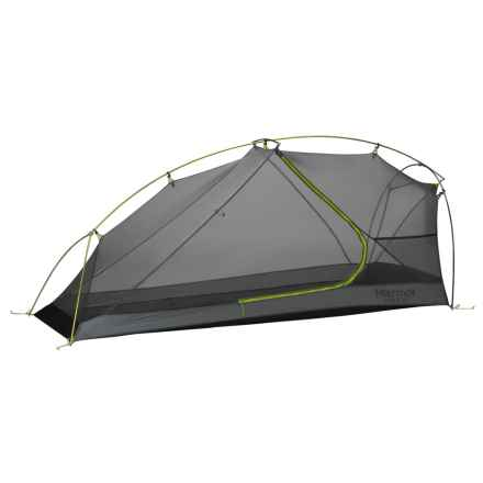 Marmot Force 1P Tent - 1-Person, 3-Season in Green Lime/Steel - Closeouts