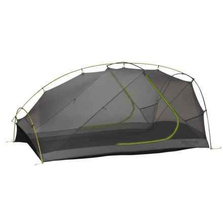 Marmot Force 3P Tent - 3-Person, 3-Season in Green Lime/Steel - Closeouts