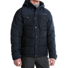 Marmot Fordham Down Jacket - 700 Fill Power (For Men) in Midnight Navy - Closeouts