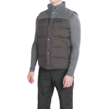 Marmot Fordham Down Vest - 700 Fill Power (For Men) in Steel Onyx - Closeouts