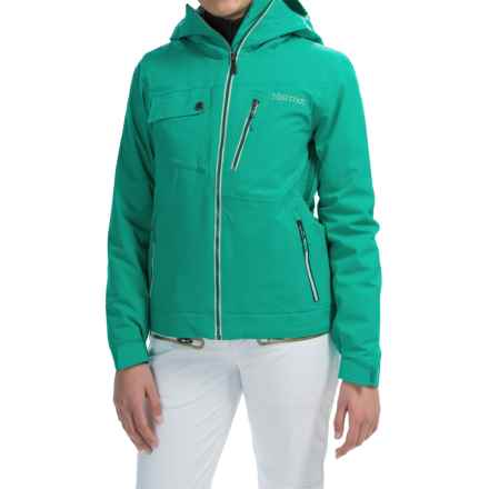 Marmot Free Skier Jacket - Waterproof, Insulated (For Women) in Gem Green - Closeouts