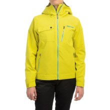 Marmot Free Skier Jacket - Waterproof, Insulated (For Women) in Yellow Vapor - Closeouts