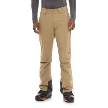 Marmot Freefall Insulated Pants - Waterproof (For Men) in Desert Khaki - Closeouts