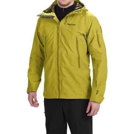 Marmot Freerider Gore-Tex® Ski Jacket - Waterproof (For Men) in Yellow Vapor - Closeouts