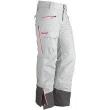 Marmot Freerider Gore-Tex® Ski Pants - Waterproof (For Women) in Platinum - Closeouts