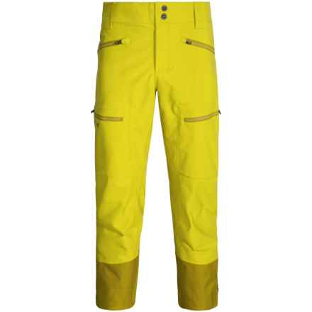 Marmot Freerider Gore-Tex® Snow Pants - Waterproof (For Men) in Yellow Vapor - Closeouts