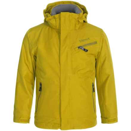 Marmot Freerider MemBrain® Ski Jacket - Waterproof (For Little and Big Boys) in Green Mustard - Closeouts