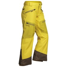 Marmot Freerider Ski Pants - Waterproof, Insulated (For Little and Big Boys) in Yellow Vapor/Green Mustard - Closeouts
