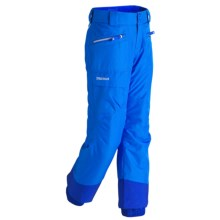 Marmot Freerider Snow Pants - Waterproof, Insulated (For Little and Big Girls) in Blue Bay - Closeouts