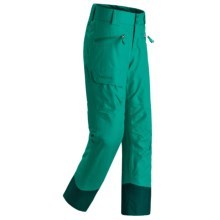Marmot Freerider Snow Pants - Waterproof, Insulated (For Little and Big Girls) in Gem Green - Closeouts