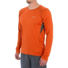 Marmot Frequency Shirt - UPF 50, Long Sleeve (For Men) in Blaze - Closeouts