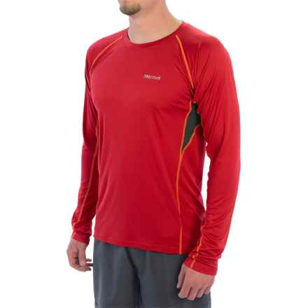 Marmot Frequency Shirt - UPF 50, Long Sleeve (For Men) in Team Red - Closeouts