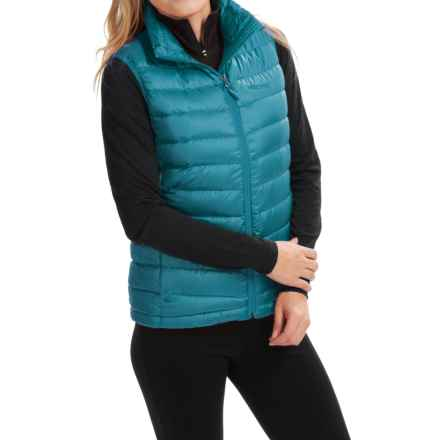 Marmot Freya Down Vest - 700 Fill Power (For Women) in Aqua Blue - Closeouts