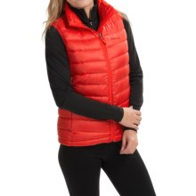 Marmot Freya Down Vest - 700 Fill Power (For Women) in Cherry Tomato - Closeouts