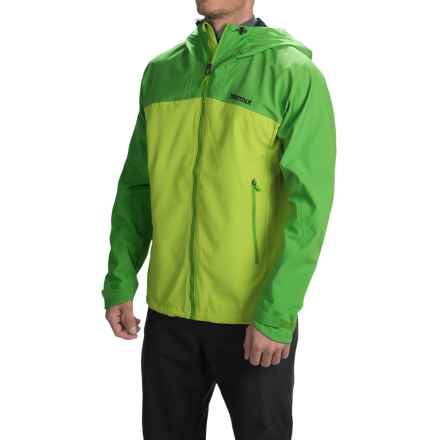 Marmot Front Point Polartec® NeoShell® Jacket - Waterproof (For Men) in Vermouth/Rain Forest - Closeouts