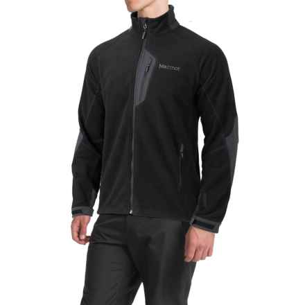 Marmot Front Range Fleece Jacket - Windstopper® (For Men) in Black - Closeouts