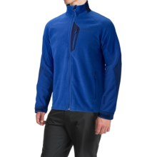 Marmot Front Range Fleece Jacket - Windstopper® (For Men) in Dark Azure/Blue Navy - Closeouts