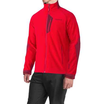 Marmot Front Range Fleece Jacket - Windstopper® (For Men) in Team Red/Brick - Closeouts