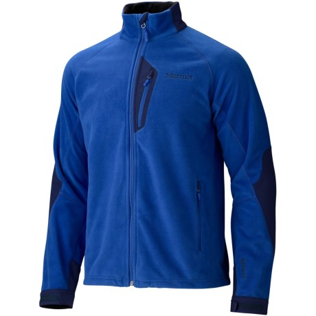 Marmot Front Range Windstopper® Fleece Jacket (For Men) in Dark Azure/Navy Blue