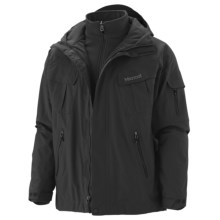 Marmot Frontside Component Jacket - Waterproof, Removable Liner (For Men) in Black - Closeouts